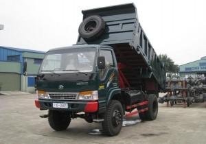 Xe vận chuyển phế thải có tải trọng 10m3